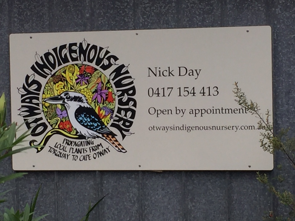 Otways indigeneous nursery